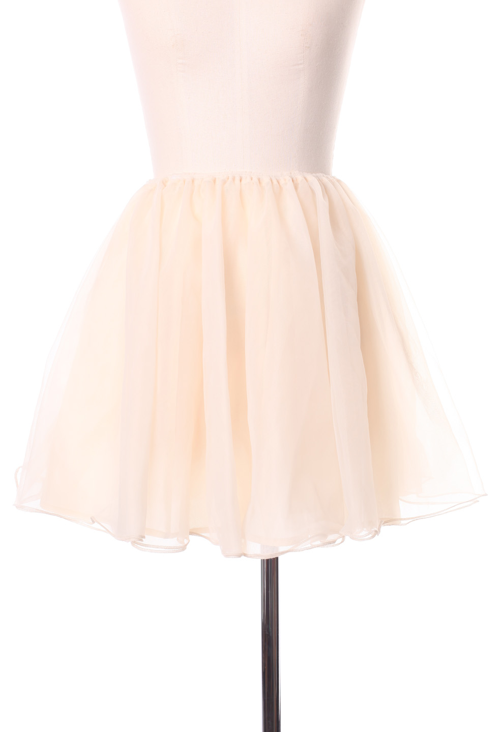 Triple Layers Tulle Skirt