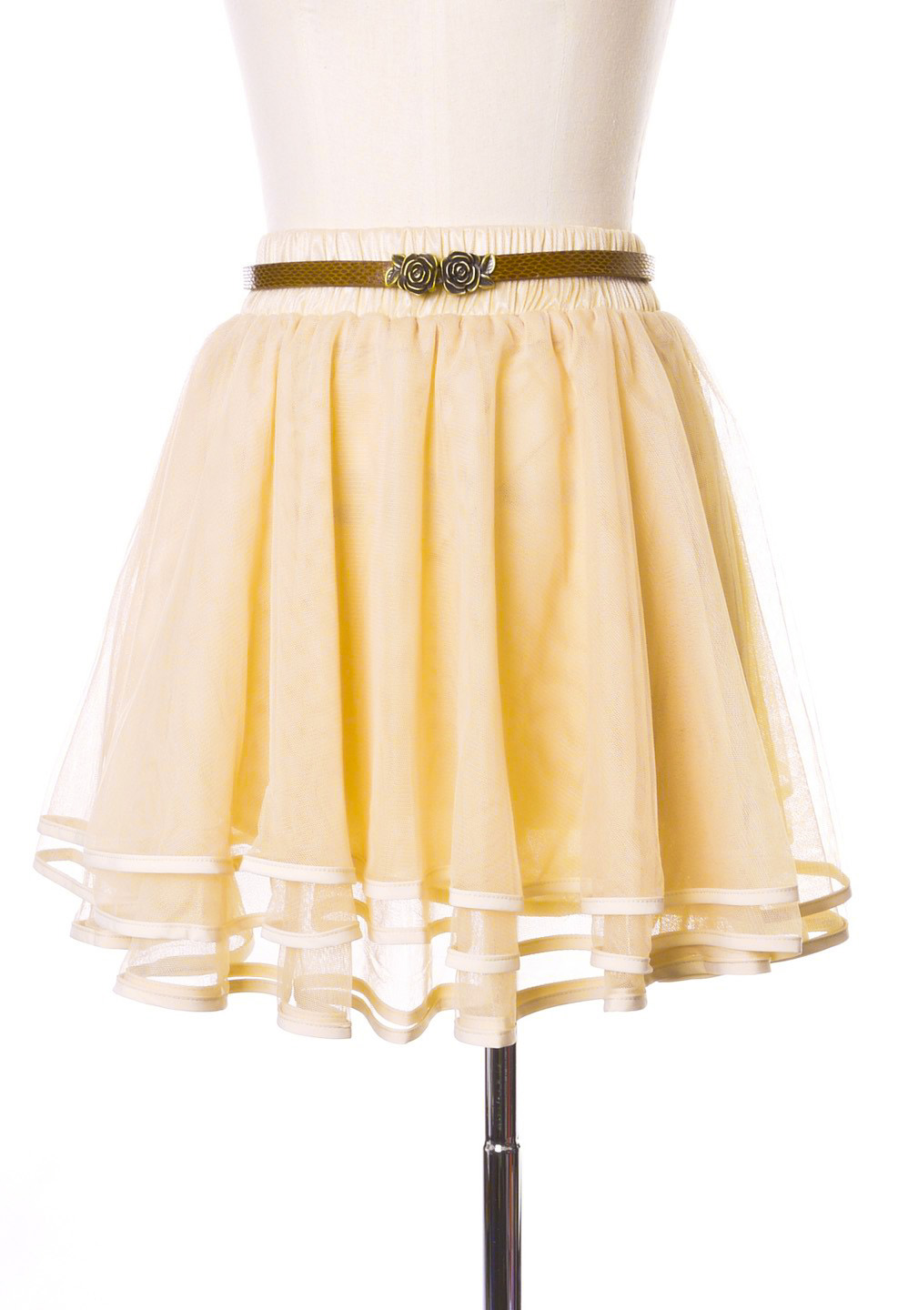 Delicacy Triple Layers Tutu in Ivory