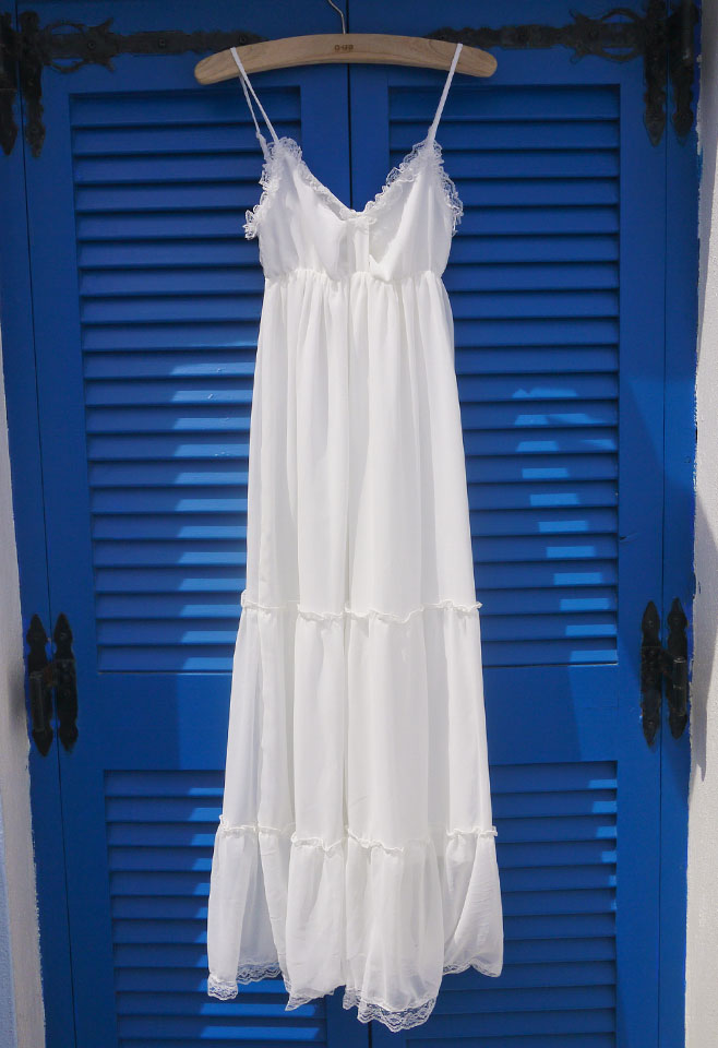 Beloved Summer Maxi Chiffon Dress