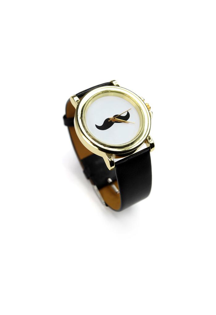 Chicwish Moustache Watch