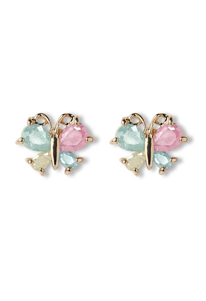 Delicate Butterfly Beads Earrings