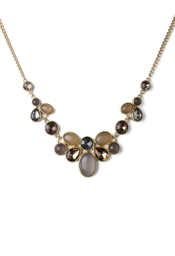 Premium Jewelled Bid Necklace