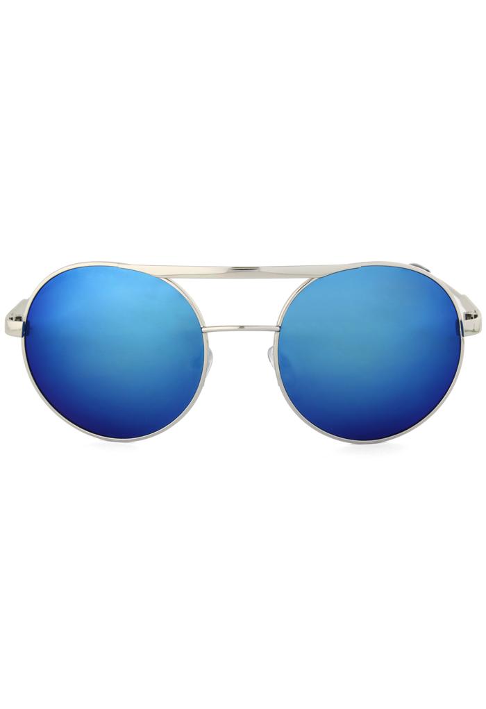 Aviator Sunglasses in Ocean Blue