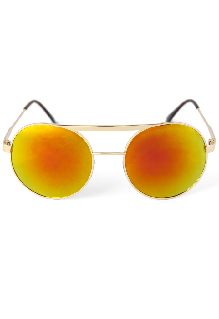 Aviator Sunglasses in Yolk