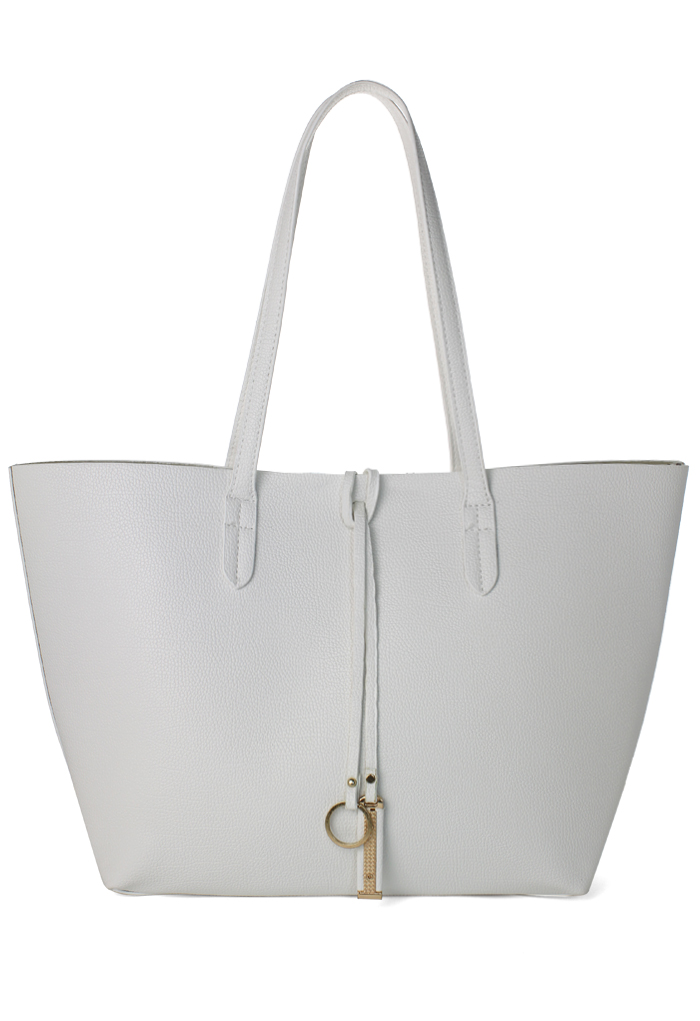 Twinset Tote Bag in White