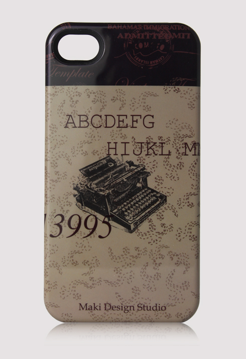 Vintage Printer Mobile Phone Case