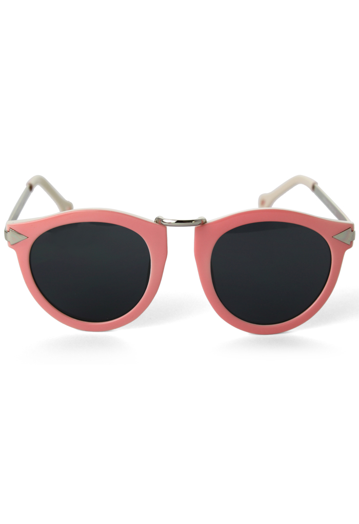 Peach Pink Candy Color Sunglasses