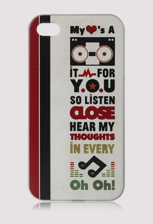 Listen to Music Mobile Phone Case