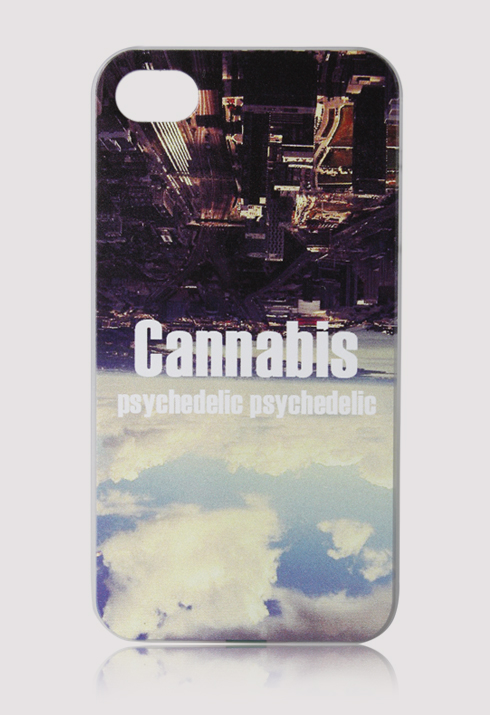 Psychedelic Cannabis Mobile Phone Case