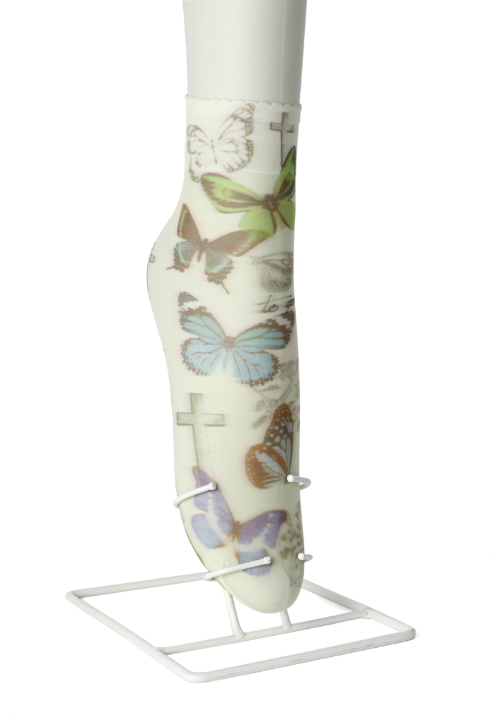 Butterfly Print Ankle Socks
