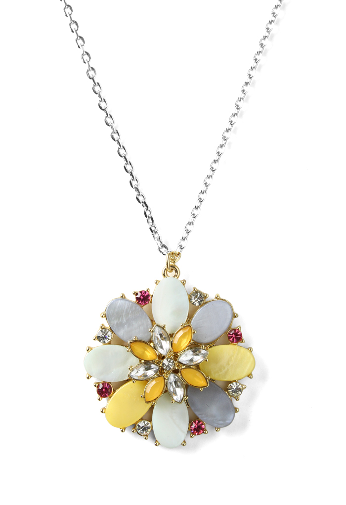 Blooming Flower Beads Necklace