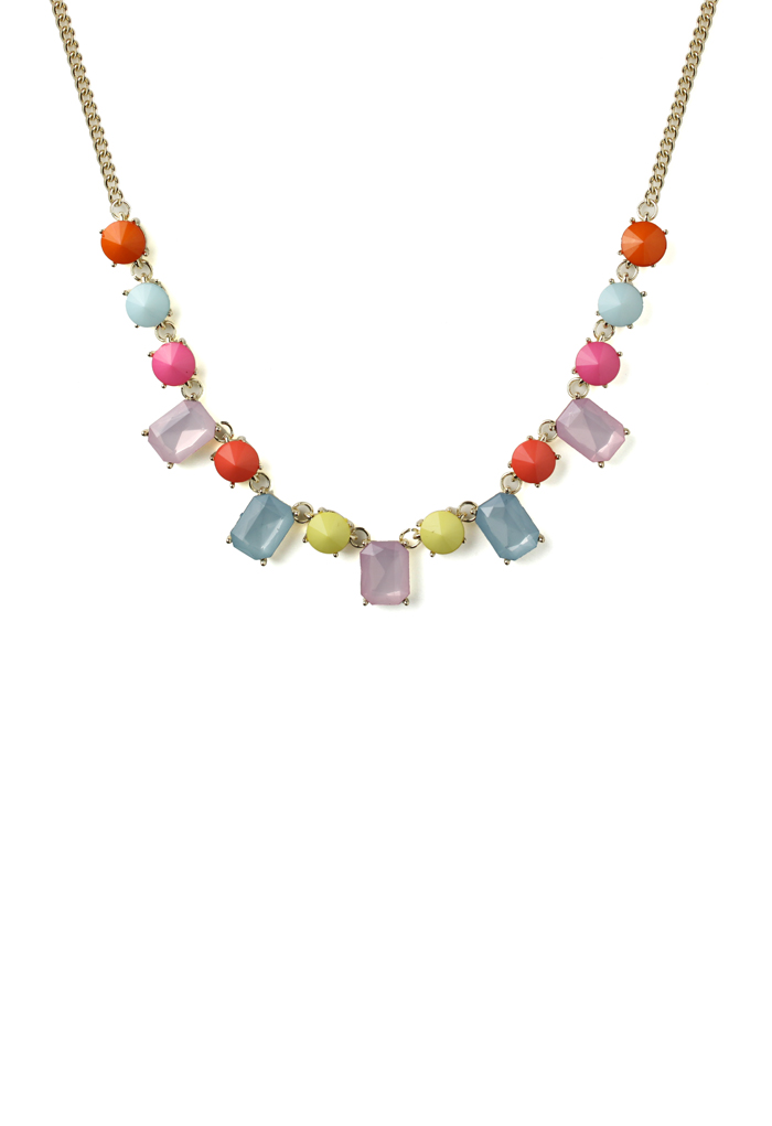 Sweet Candy Color Beads Necklace