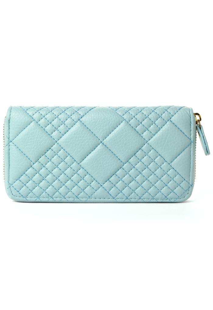Mint Blue Candy Color Wallet