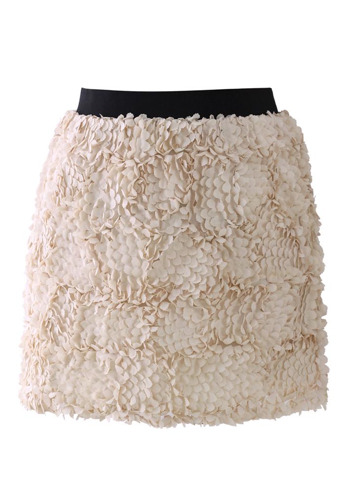 3D Flower Mini Bud Skirt
