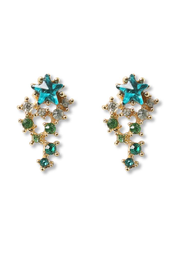 Crystal Meteor Shower Earrings