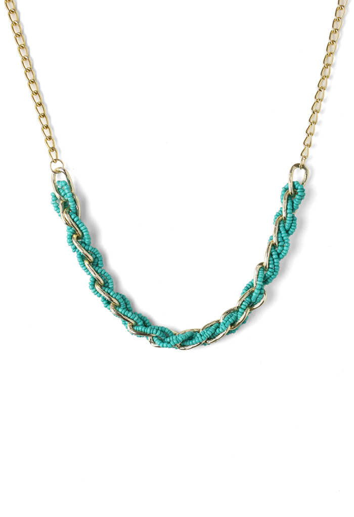 Beads Twined Necklace