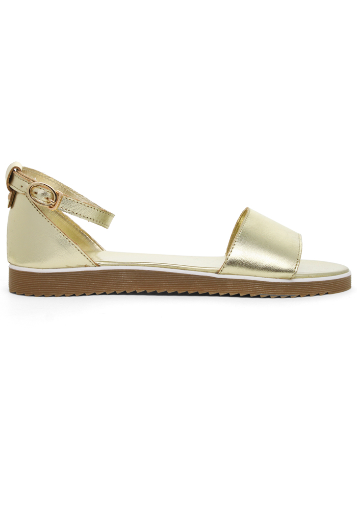 Refreshing New Rome Gold Sandals