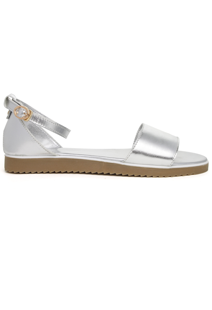 Refreshing New Rome Silver Sandals