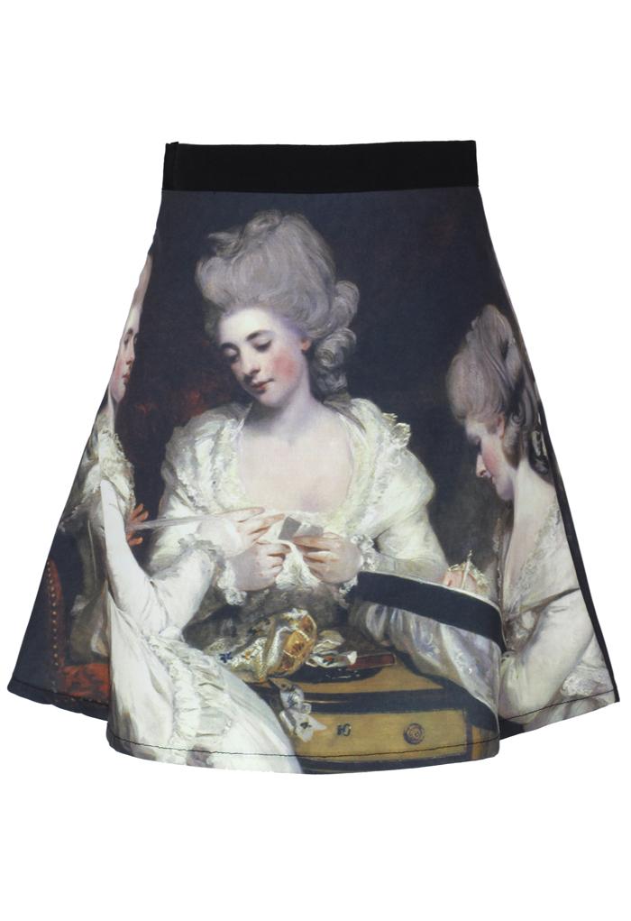 Painting Skater Skirt