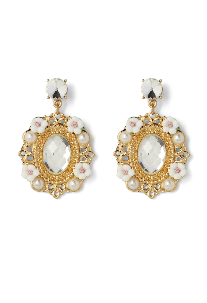 Beauty Pendant Drop Earings