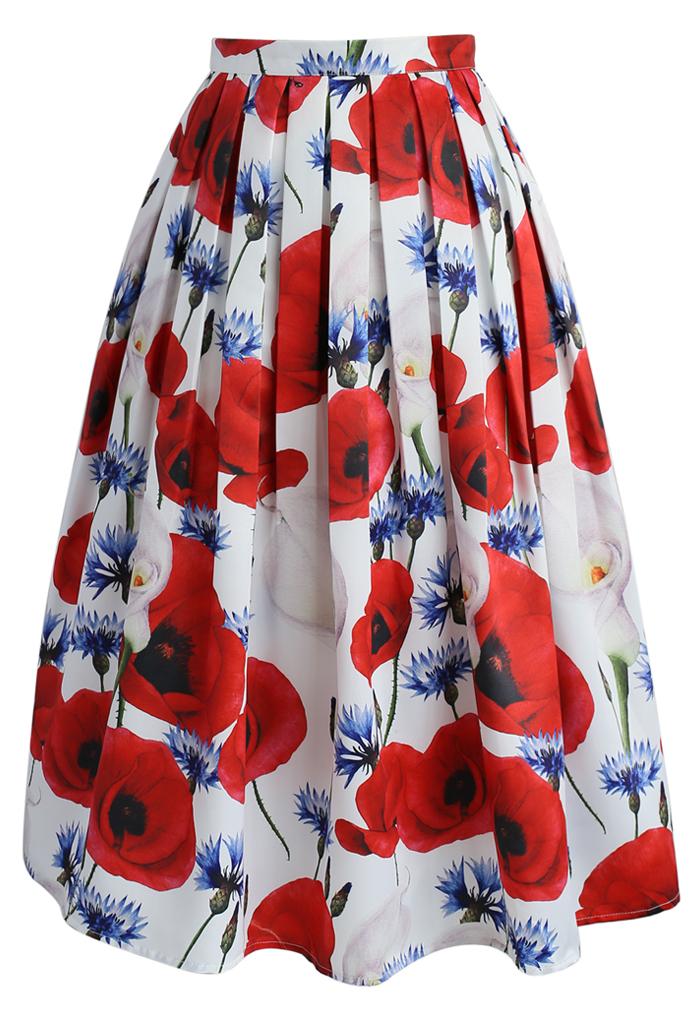 Calla Lovely Midi Skirt