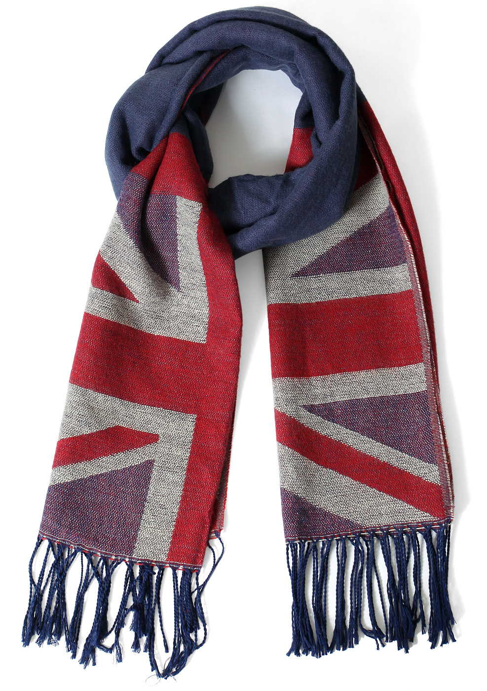 Union Jack Pattern Scarf