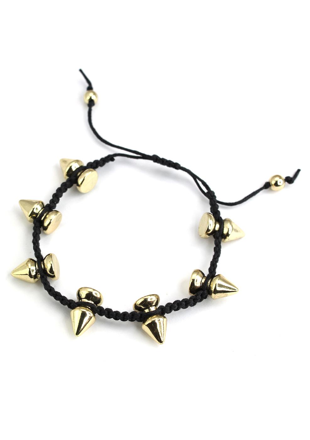 Spike Knit Bracelet