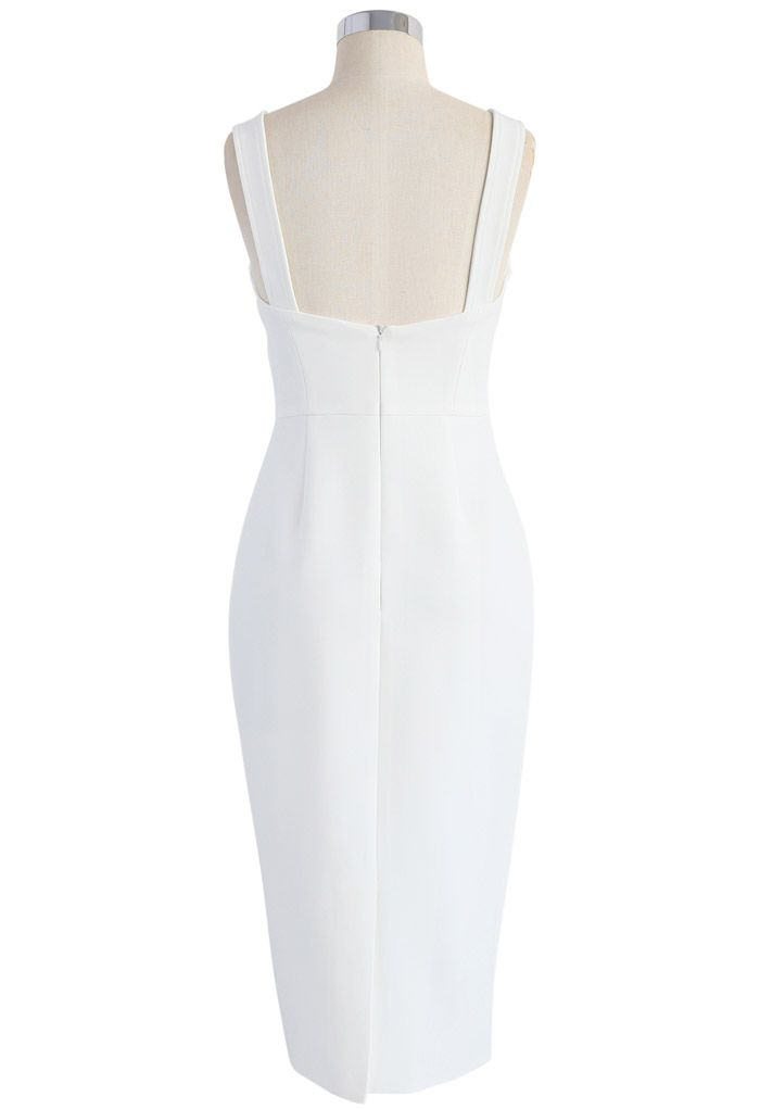 My Style Recipe Dress in White