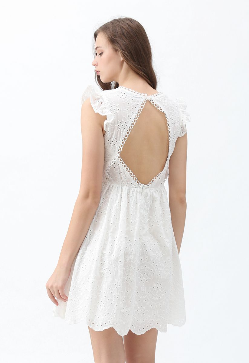 Dance of Romance Open-Back Sleeveless Dress