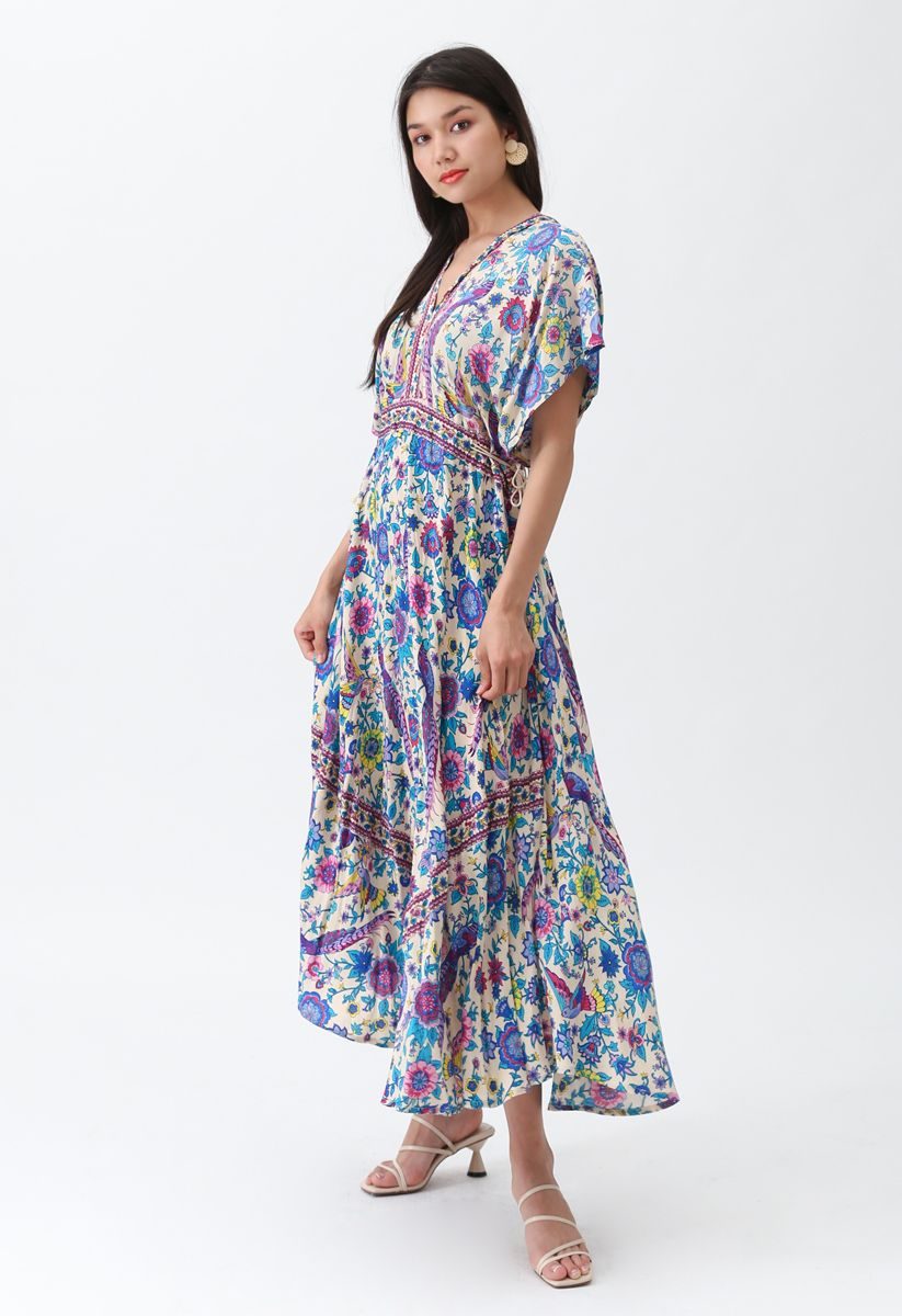 Tales Of A Dream Boho Maxi Dress Retro Indie And Unique Fashion