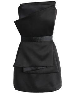 My Sassy Secret Strapless Dress in Black