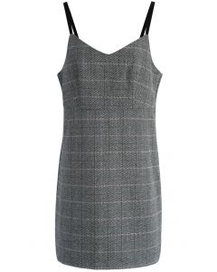 Your Faddish Task Pinafore Dress