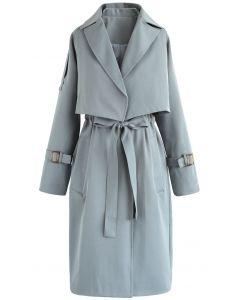 Novel Look Twinset Coat in Teal