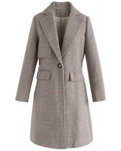 I Wanna Go Check Longline Coat
