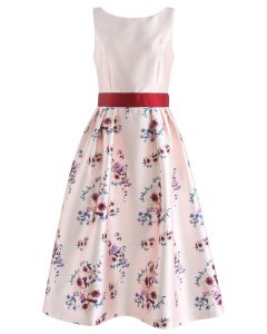 Go with Grace Floral Printed Dress