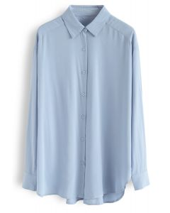 Ultra Softness Basic Shirt in Blue