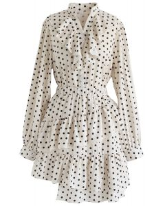 Gimme the Ruffle Top and Skort Set in Polka Dot