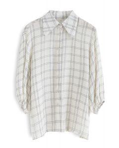 Break the Rules Check Pattern Shirt