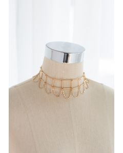 Ladder Link Chain Choker