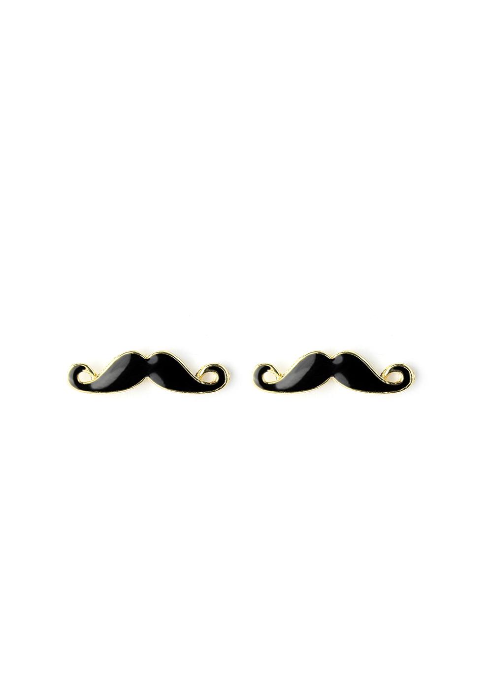 Moustache Stud Earrings