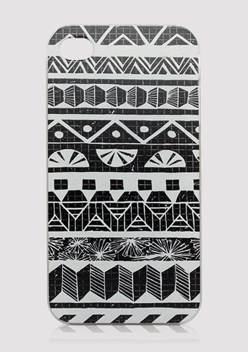 Aztec Print Mobile Phone Case